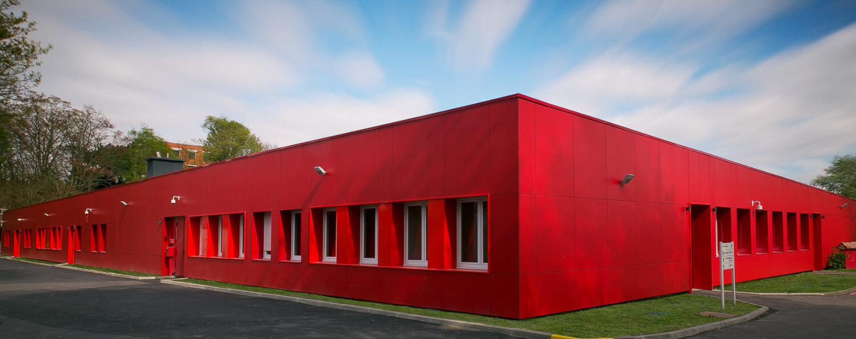 Lycée Ozanam, réhabilitation du bâtiment et optimisation des performances thermiques et énergétiques