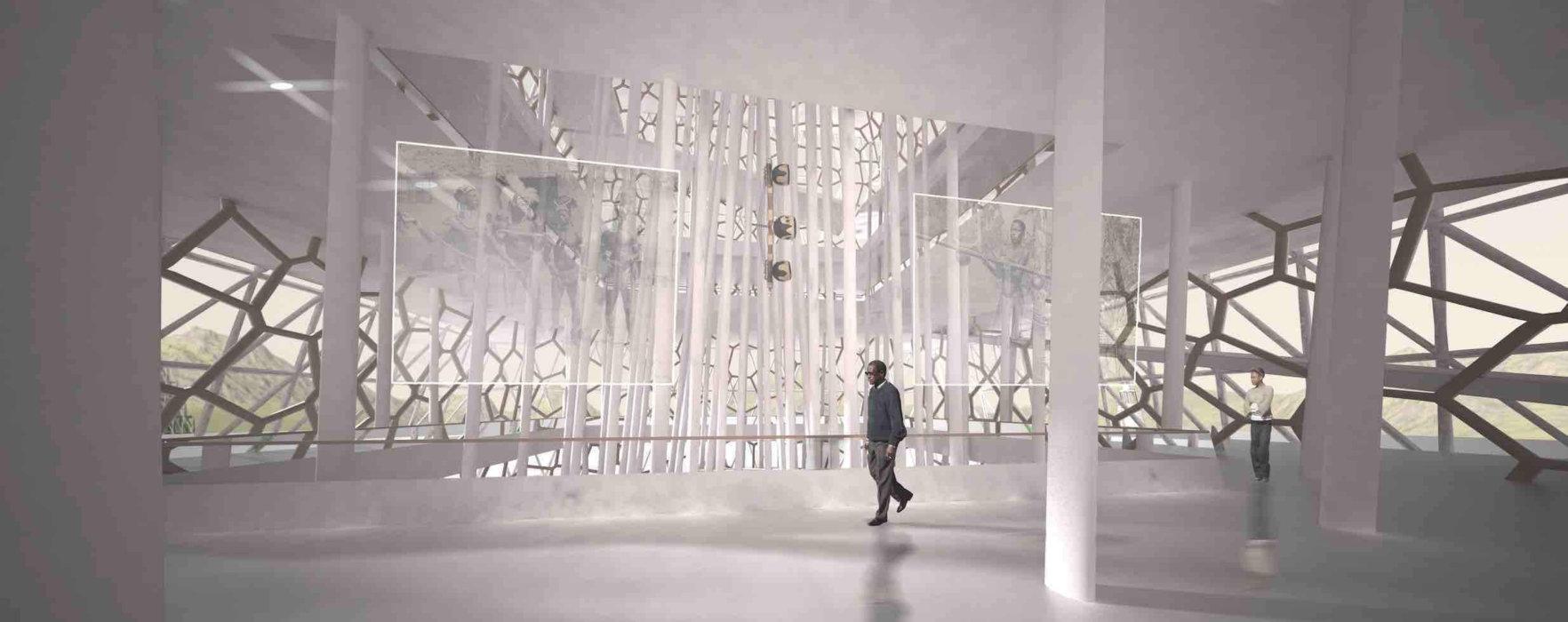 Projet de conception architecturale pour une institution culturelle